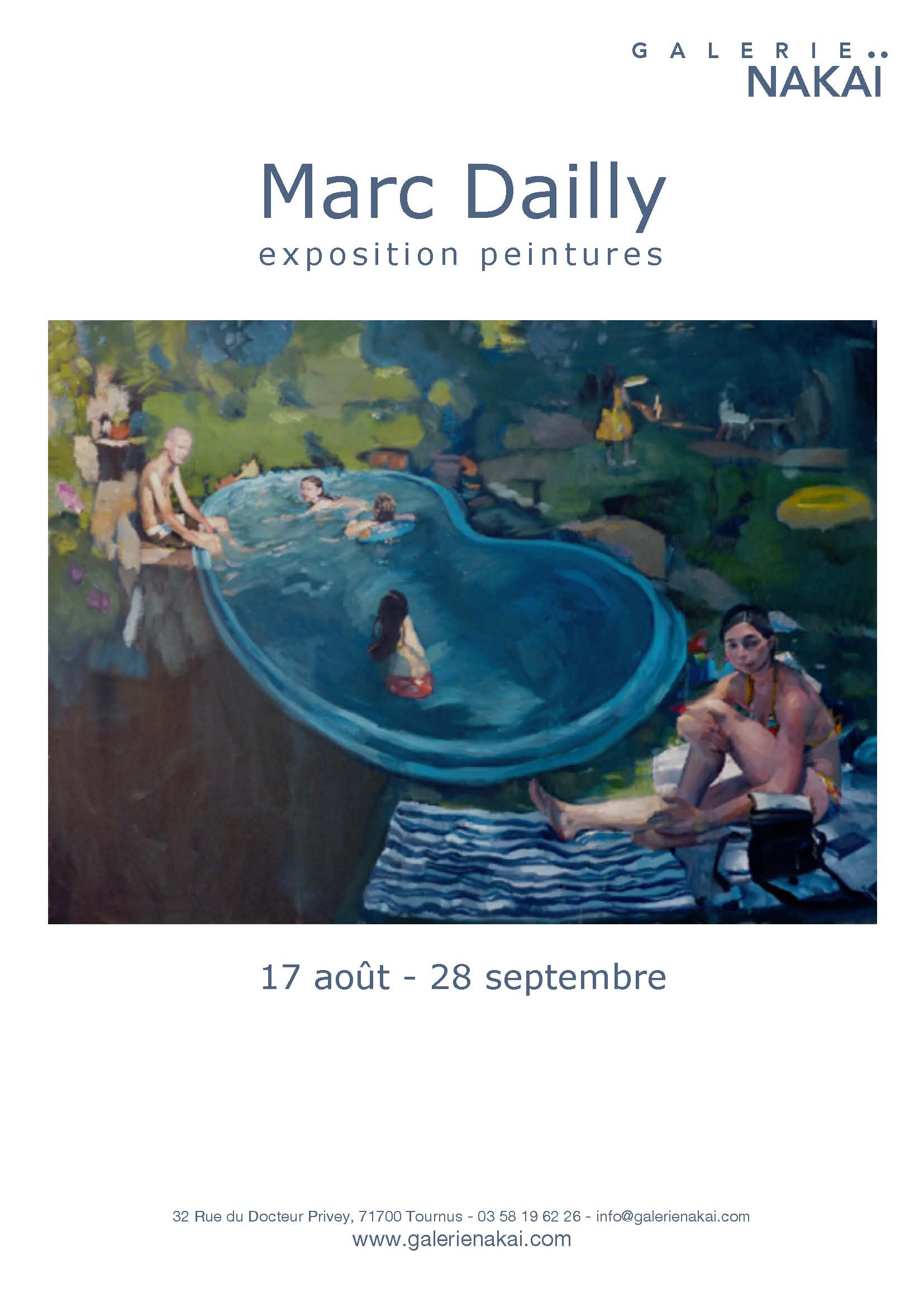 Exposition de Marc Dailly
